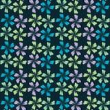 Leuk abstract naadloos patroon Vector bloemenachtergrond af:drukken Royalty-vrije Stock Fotografie