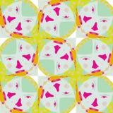 Leuk abstract neon vrouwelijk patroon voor textiel Royalty-vrije Stock Foto's