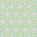 Leuk abstract neon vrouwelijk patroon voor textiel Stock Foto