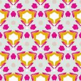 Leuk abstract neon vrouwelijk patroon voor textiel Royalty-vrije Stock Afbeeldingen