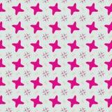 Leuk abstract neon vrouwelijk patroon voor textiel Royalty-vrije Stock Afbeelding