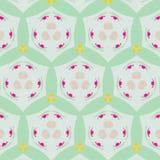 Leuk abstract neon vrouwelijk patroon voor textiel Stock Foto's