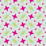 Leuk abstract neon vrouwelijk patroon voor textiel Stock Fotografie