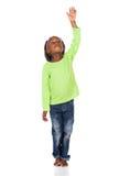 Leuk Afrikaans meisje Royalty-vrije Stock Foto's