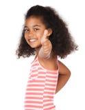 Leuk Afrikaans meisje Royalty-vrije Stock Afbeelding