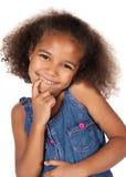 Leuk Afrikaans meisje Royalty-vrije Stock Afbeeldingen