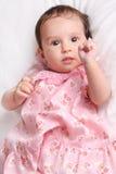 Leuk babymeisje Royalty-vrije Stock Afbeeldingen