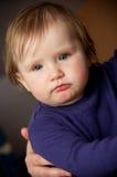 Leuk babymeisje royalty-vrije stock fotografie