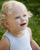 Leuk babymeisje Royalty-vrije Stock Foto