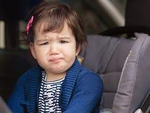 Leuk babymeisje stock foto's