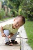 Leuk babyportret Stock Afbeeldingen