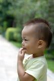 Leuk babyportret Royalty-vrije Stock Afbeeldingen