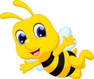 Leuk bijenbeeldverhaal Royalty-vrije Stock Foto