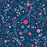 Leuk bloemenpatroon Royalty-vrije Stock Afbeeldingen