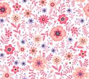 Leuk bloemenpatroon Stock Foto
