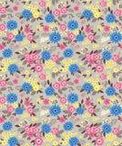 Leuk bloemenpatroon Stock Afbeelding