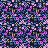 Leuk bloemenpatroon Royalty-vrije Stock Foto's