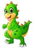 Leuk dinosaurusbeeldverhaal Royalty-vrije Stock Foto's