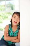 Leuk glimlachend meisje Stock Afbeelding