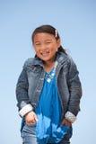 Leuk glimlachend meisje Royalty-vrije Stock Foto