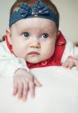 Leuk het meisjesportret van de Baby Royalty-vrije Stock Foto's