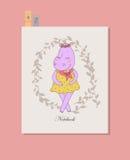 Leuk hippomeisje in kleding Royalty-vrije Stock Afbeelding