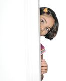 Leuk Indisch meisjeskind. Stock Afbeelding