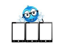 Leuk karakter Stock Foto