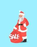Leuk karakter Het malplaatje van het de verkoopontwerp van Kerstmis Stock Foto's