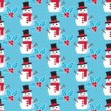Leuk Kerstmispatroon royalty-vrije illustratie