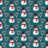 Leuk Kerstmispatroon vector illustratie