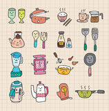 Leuk keukenelement royalty-vrije illustratie