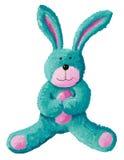 Leuk konijnstuk speelgoed Stock Foto