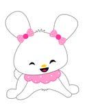 Leuk konijntje royalty-vrije illustratie