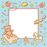 Het kader van de baby Stock Afbeeldingen