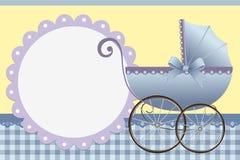 Leuk malplaatje voor de kaart van de baby Royalty-vrije Stock Fotografie