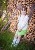 Leuk meisje royalty-vrije stock fotografie