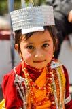 Leuk meisje in Meghalaya Royalty-vrije Stock Foto's