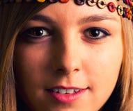Leuk meisjesportret Royalty-vrije Stock Afbeeldingen