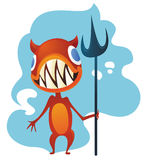 Leuk monster royalty-vrije illustratie