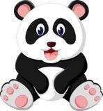 Leuk pandabeeldverhaal Stock Afbeelding