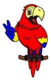 Leuk papegaaidier Stock Afbeeldingen