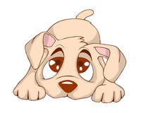 Leuk puppy vector illustratie