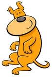 Leuk puppy of hondbeeldverhaalkarakter Royalty-vrije Stock Foto's