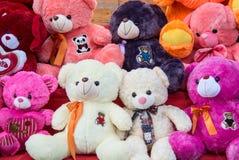 Leuk Teddy Bear Plush Toys royalty-vrije stock foto