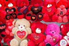 Leuk Teddy Bear Plush Toys - Giften voor de dag van Valentine ` s royalty-vrije stock foto