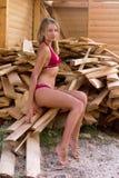 Leuk tienermeisje Stock Foto's
