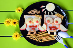 Leuk voedsel Stock Foto's