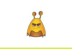 Leuk Vreemd boos Monster Stock Foto
