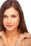 Leuk vrouwenportret Stock Fotografie
